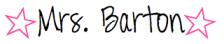 Mrs. Barton Signature