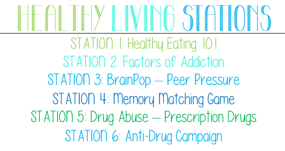 Healthy Living Stations List